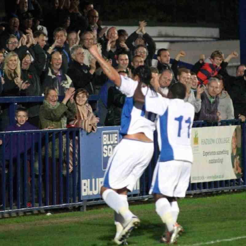 Tonbridge Angels v Thurrock - By Dave Couldridge
