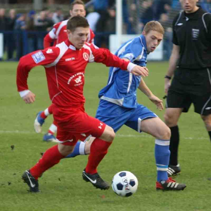 Tonbridge Angels v Welling United - By Dave Couldridge