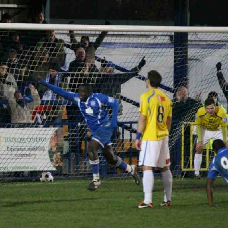Tonbridge Angels v Havant & Waterlooville - By Dave Couldridge