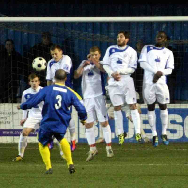 Basingstoke Town v Tonbridge Angels - By Dave Couldridge