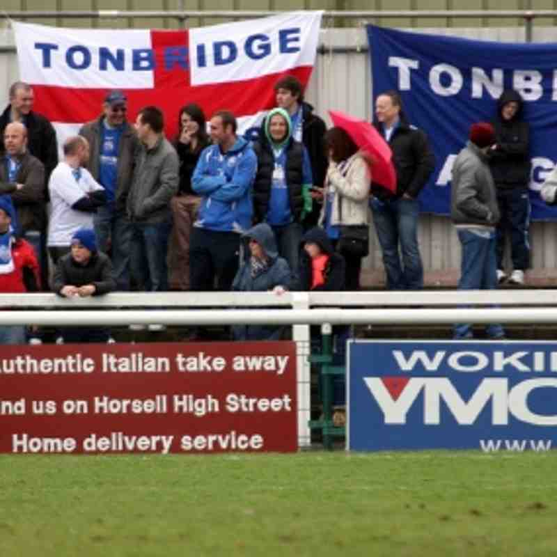 Woking v Tonbridge Angels - By Dave Couldridge