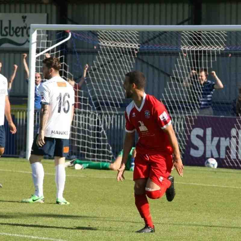 Havant & Waterlooville v Tonbridge Angels - By David Couldridge