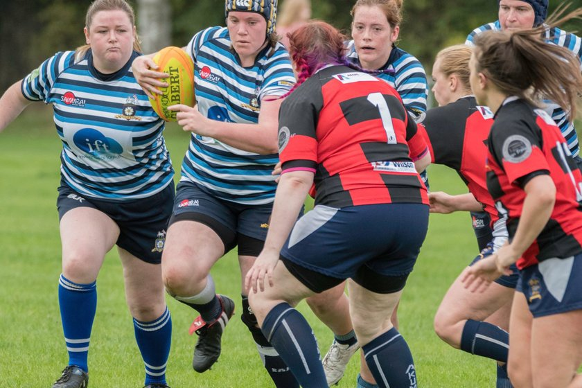 Halifax Ladies lead Sunderland 5 - 7