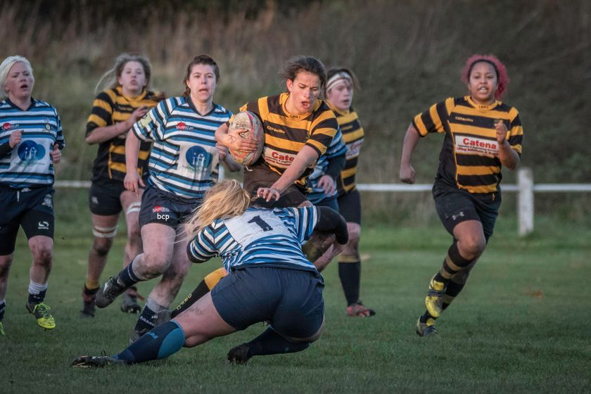 Halifax Ladies V Derby Vipers 12th Nov 2017 by Bev Clough Photography