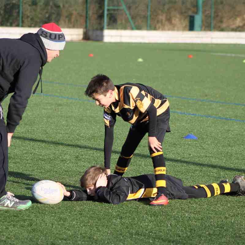 1611127 Youth teams training at Dallam 3G pitches