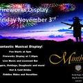 Kendal Fireworks Display - hosted by Kendal Rugby Club!