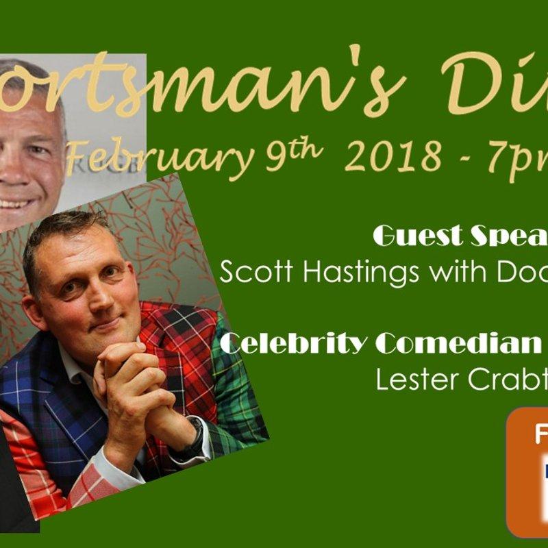 Sportsman's Dinner with Scott Hastings and Doddie Weir