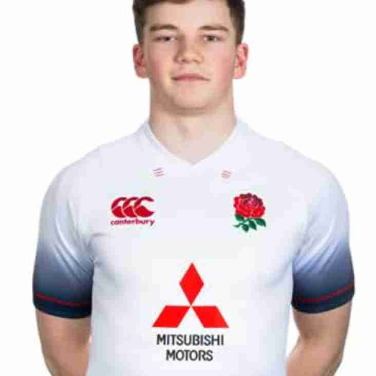 Will Montgomery scores his first ENGLAND try!