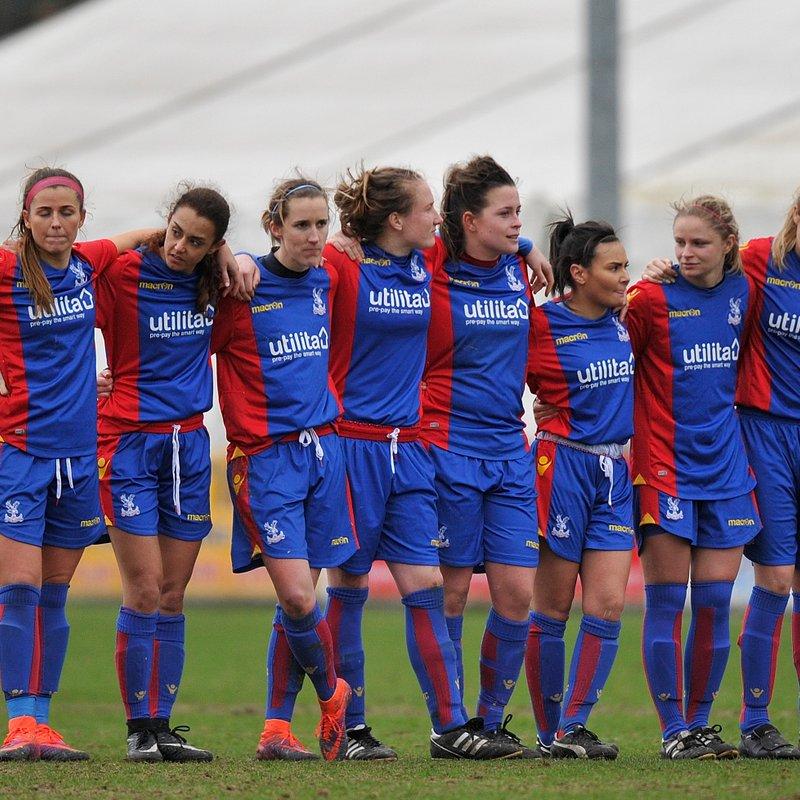REPORT: Crystal Palace ladies vs Tottenham Hotspur Ladies