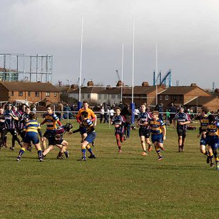 Under 14s victorious on return leg