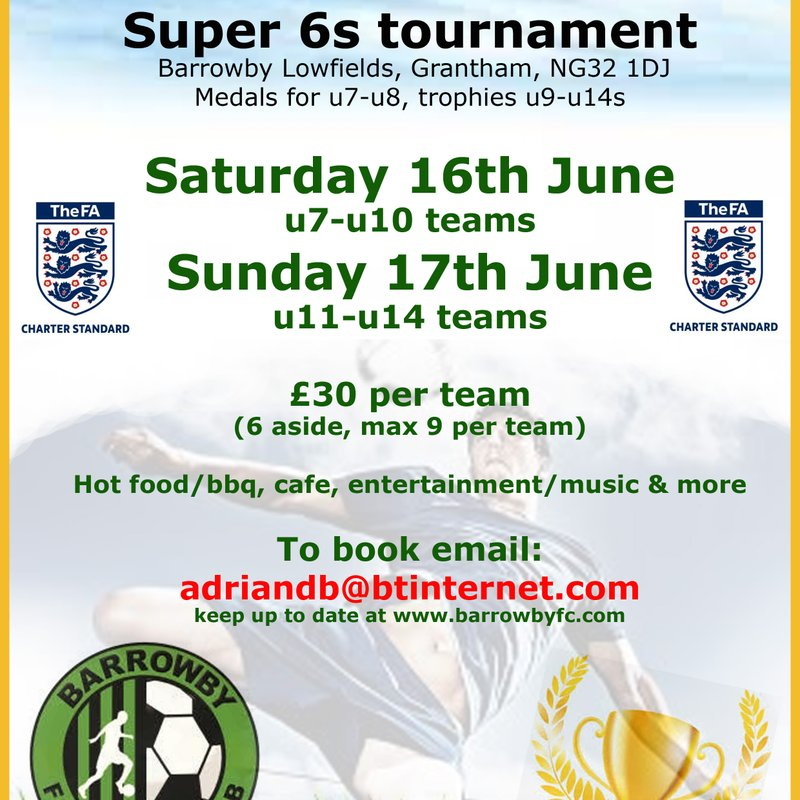 Barrowby Summer Tournament 2018
