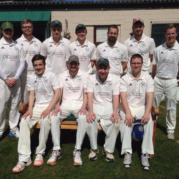 1st XI  Well Beaten by Second place Brodsworth<