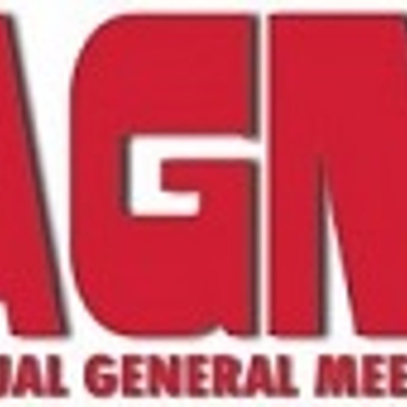 Annual General Meeting  Thursday 18th January 2018 -  7 pm at The Rustic Arms