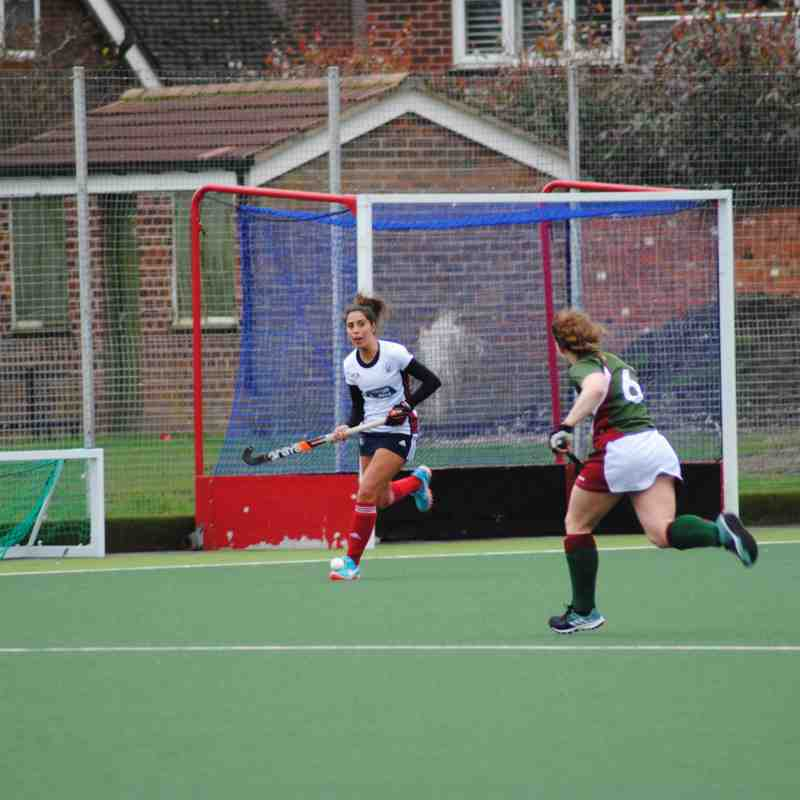 BMU Poynton ladies 2nds v Leeds Feb 2017