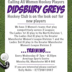 Didsbury Greys News
