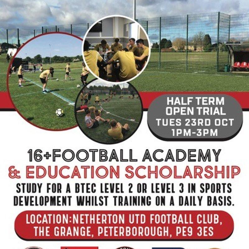 One Touch Football Academy & Education Scholarship