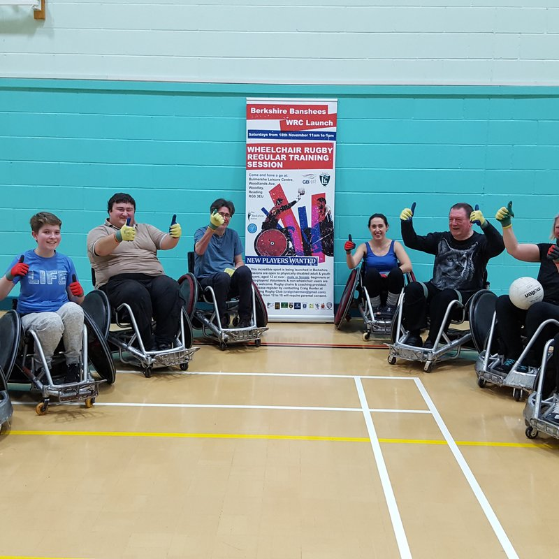 Berkshire Banshees Wheelchair Rugby Club off to a great start