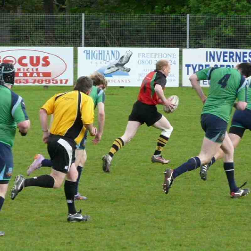 2's v Aberdeen Wanderers
