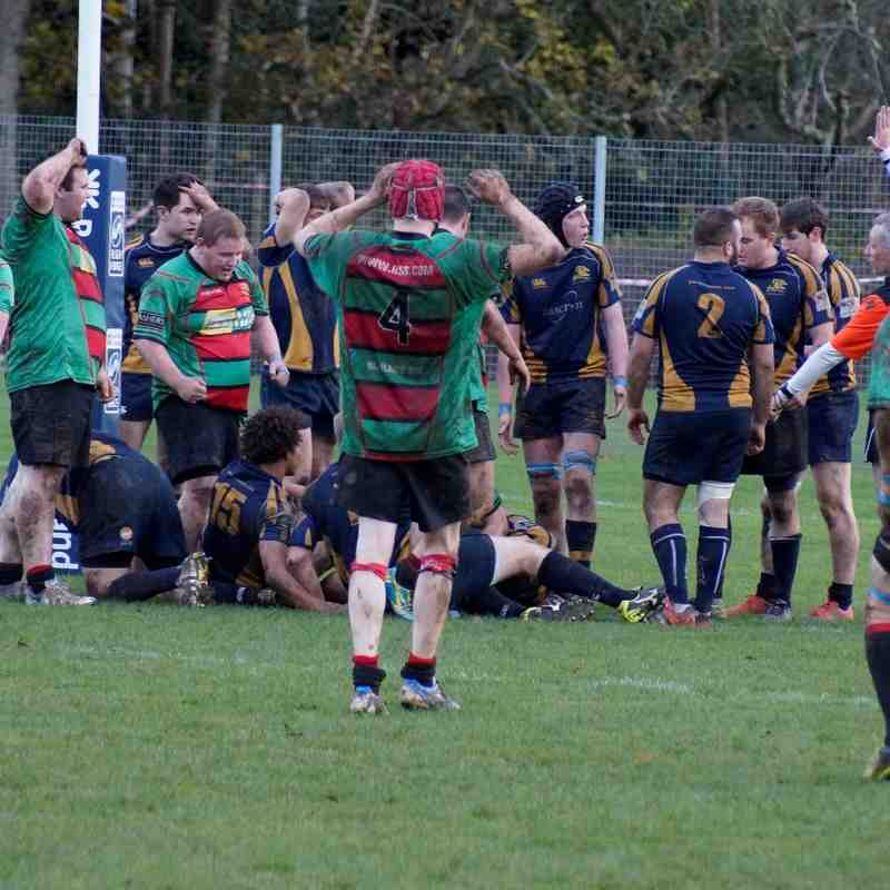 1XV v Gordonians Oct/Nov 2015