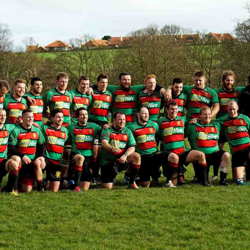 1XV v North Berwick (National Shield Semi-Final)