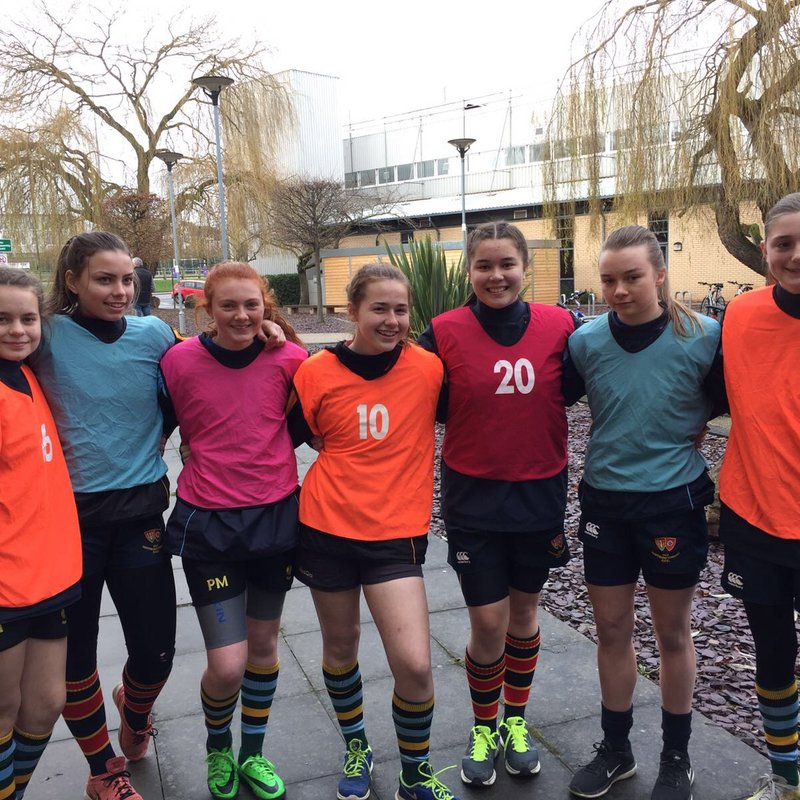 Midlands selection for ONs girls