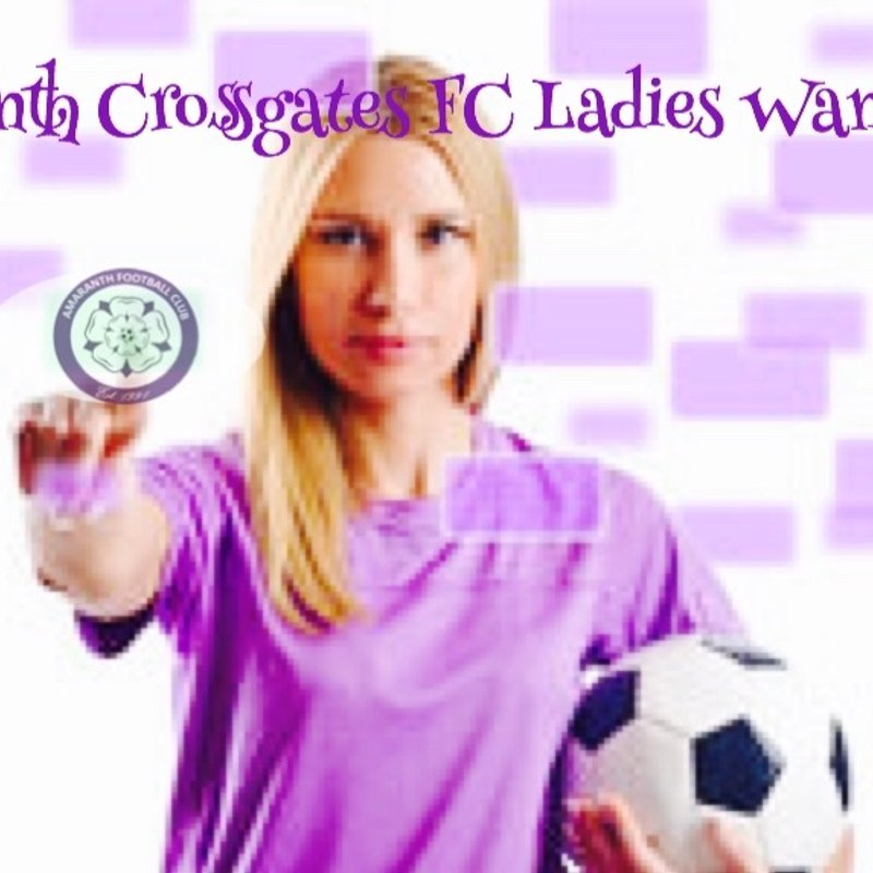 Amaranth Crossgates FC Ladies