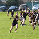 Closely Contested 17-5 Win at Old Players Reunion