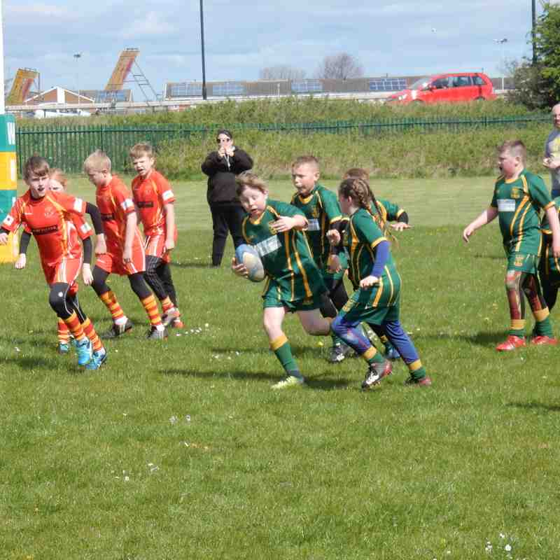 U10s vs Wallsend and Ashington at Wallsend