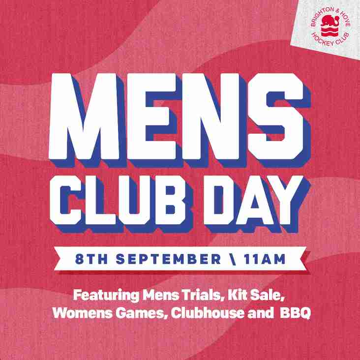 Join BHHC this Saturday for Men's trials, Club BBQ and more