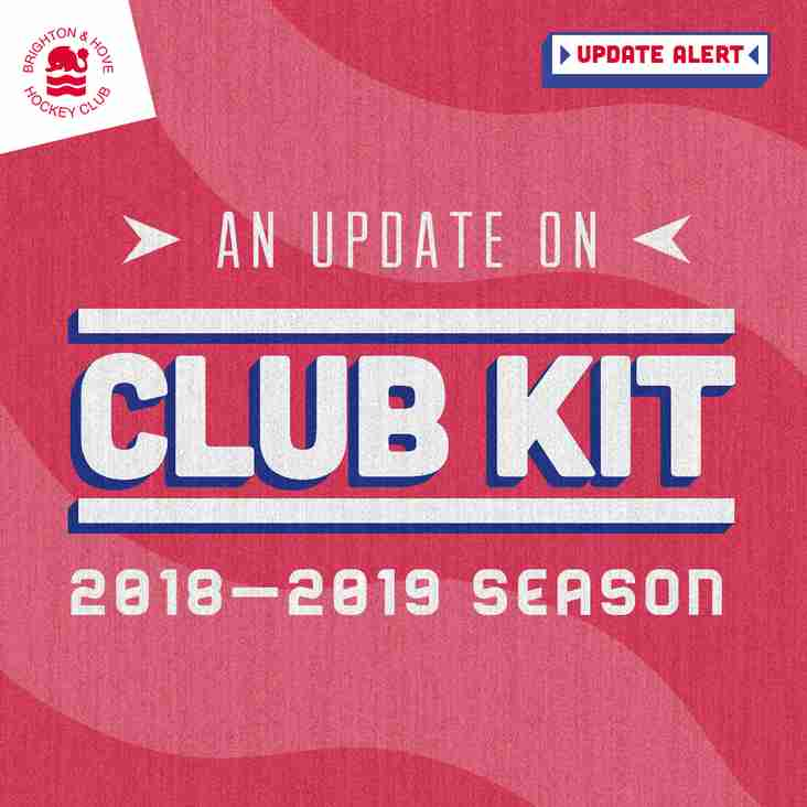 Update: 2018-2019 Season Club Kit Supplier