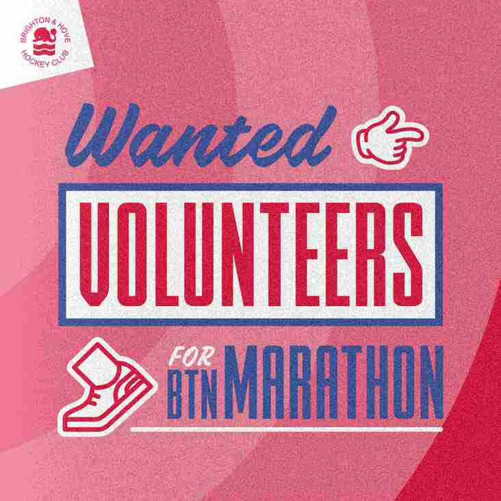 Volunteer to help at the Brighton Marathon and benefit BHHC