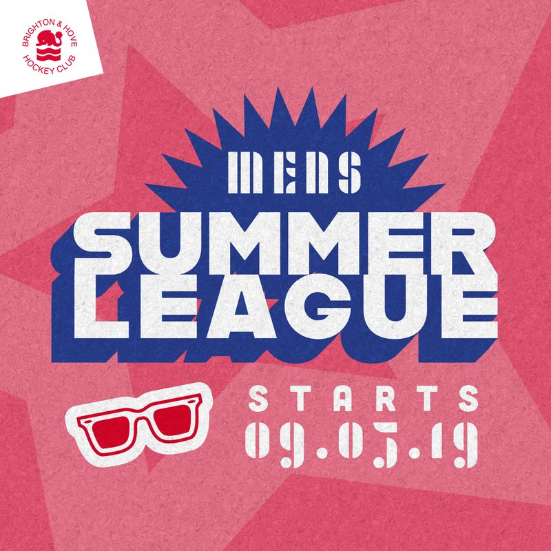 Sign up for the men's summer league hockey