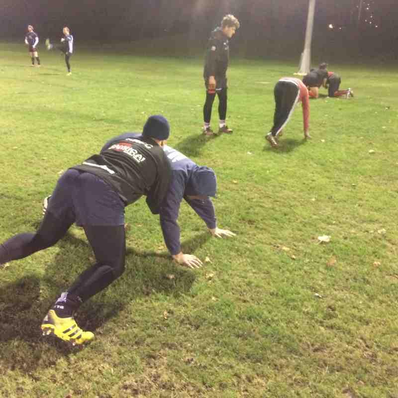 Training 28/11/16