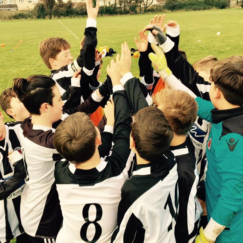 Youth U13's beat Portishead Town Colts 3 - 0