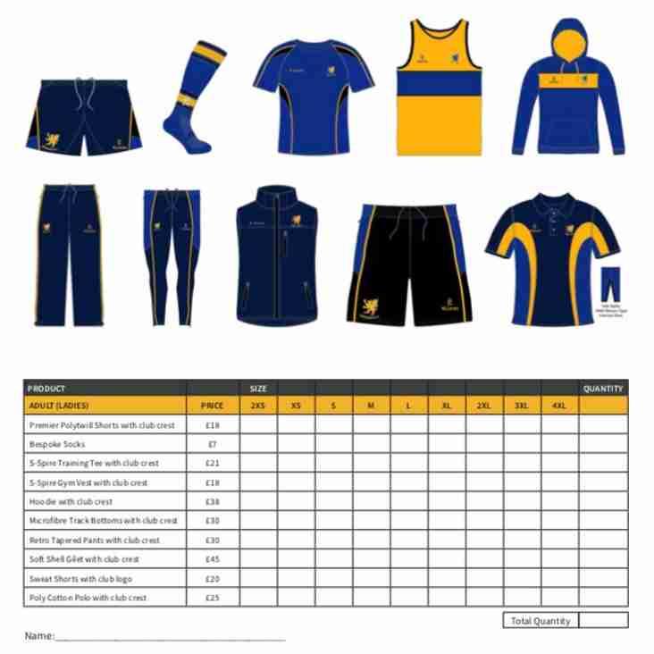 2017-18 kit order