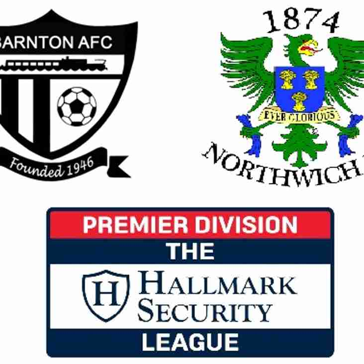 Barnton 1-0 1874 Northwich