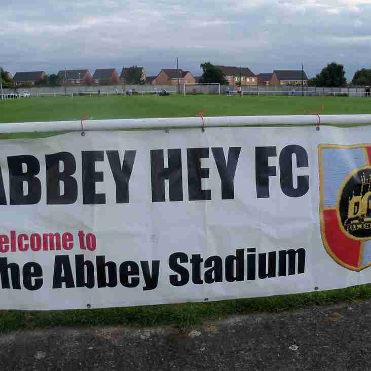 Abbey Hey 7-1 Barnton - Report