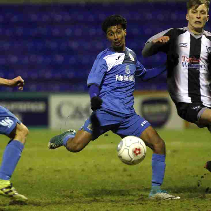 Stockport County 4-2 Barnton – Cheshire Senior Cup First Round