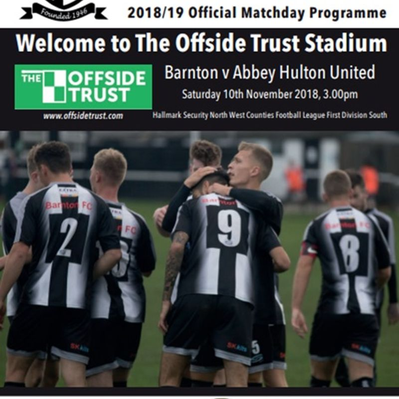 Barnton v Abbey Hulton United Preview