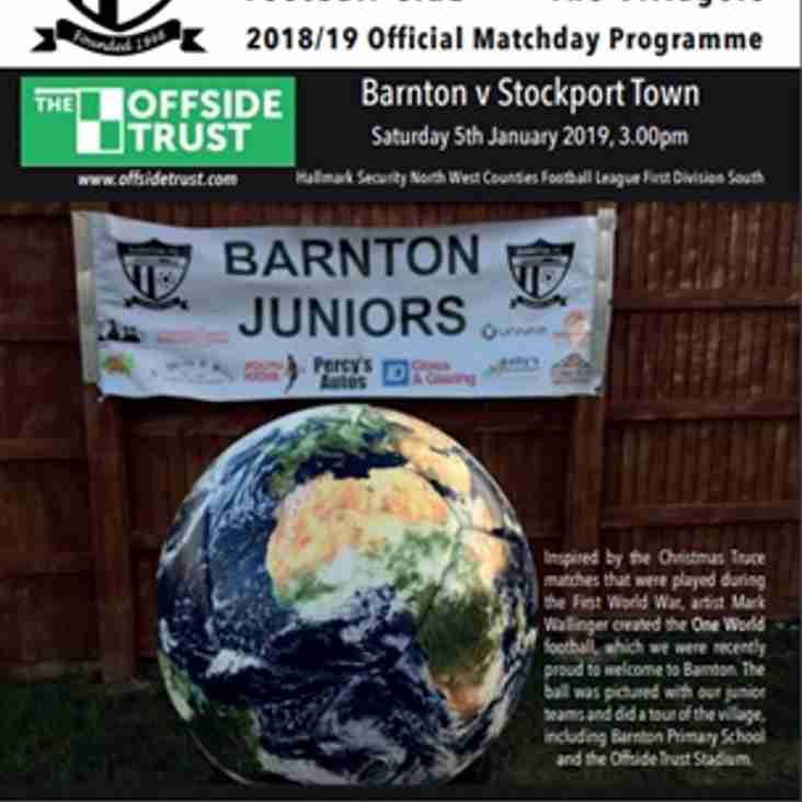 Barnton v Stockport Town - Preview