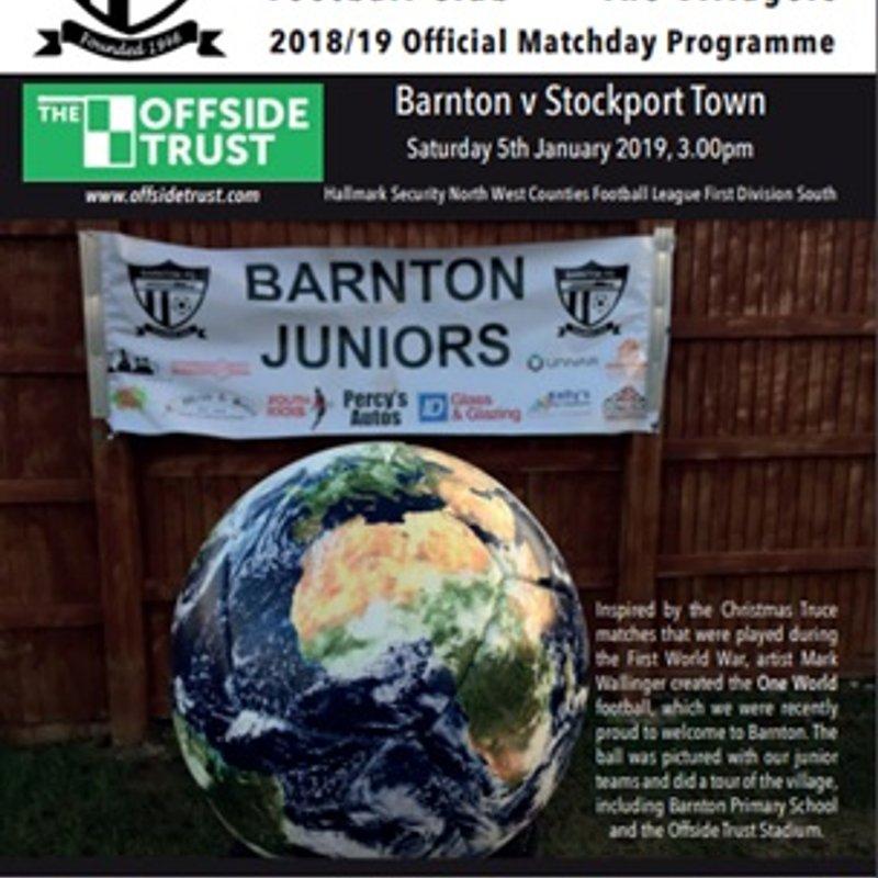 Barnton v Stockport Town - Preview