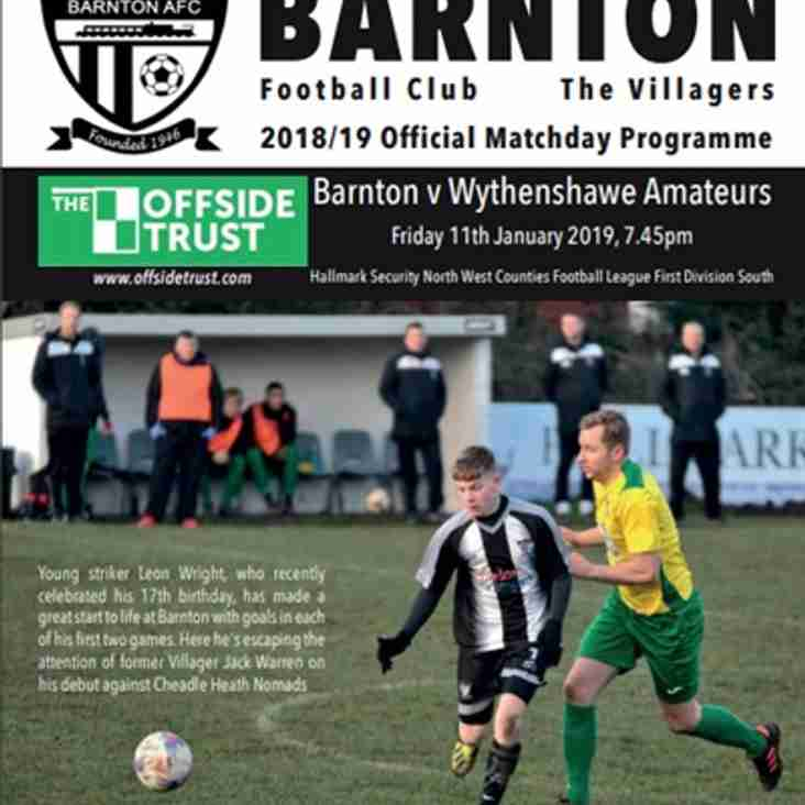 Barnton v Wythenshawe Amateurs - Preview