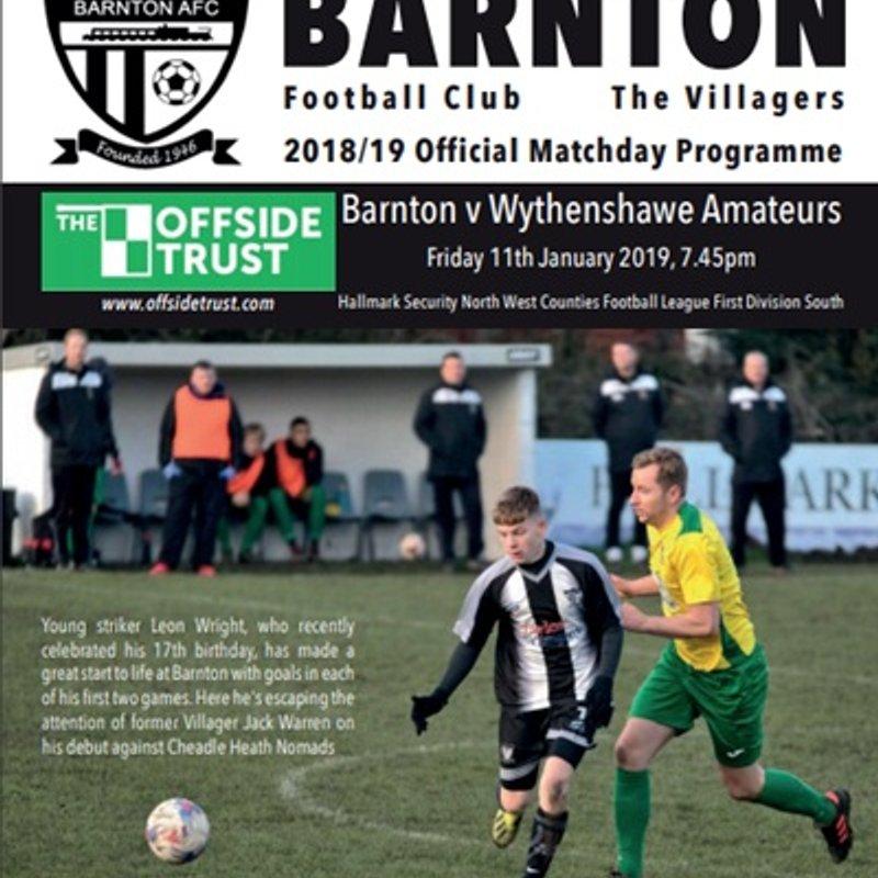 Barnton v Wythenshawe Amateurs - Preview
