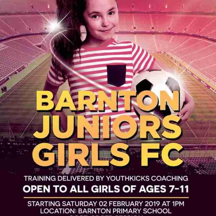 Barnton Juniors News