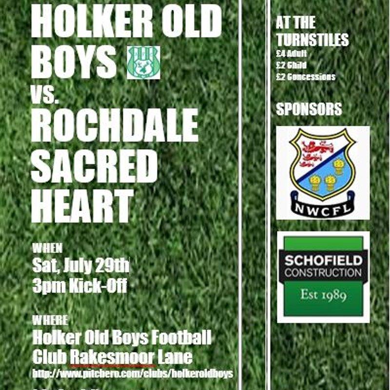 Pre-Season Friendly Holker Old Boys vs. Rochdale Sacred Heart