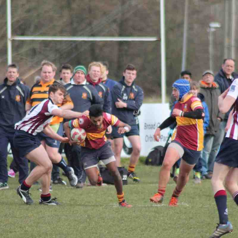 Academy  Kent Cup Final  Sidcup 20 March 2016