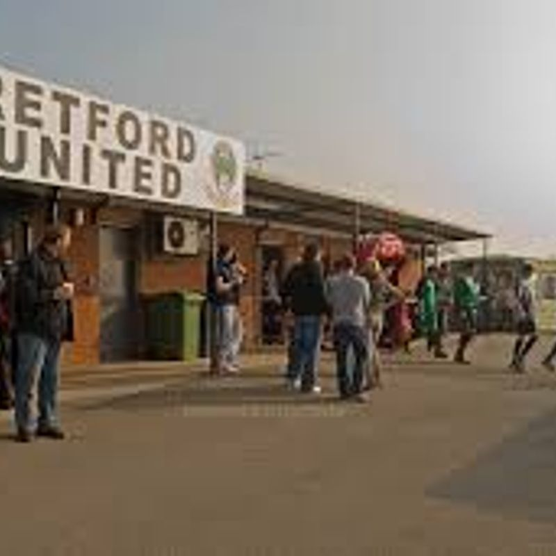 Dronfield Town 2 v 0 Retford United