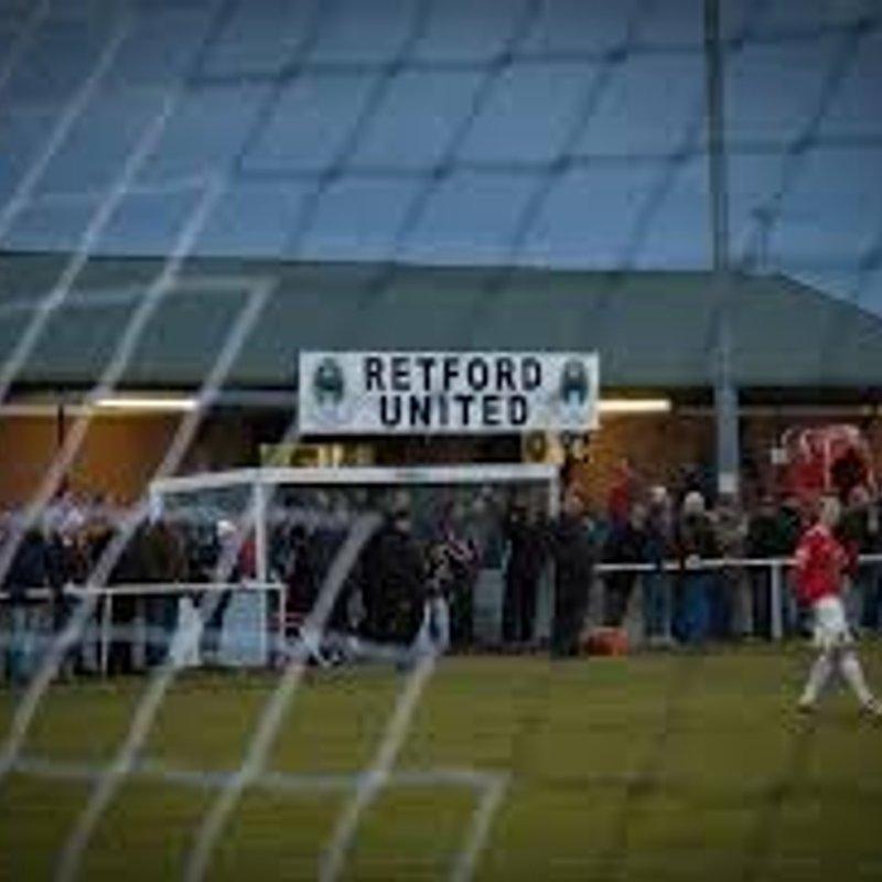 Retford United 2 v 2 Selby Town