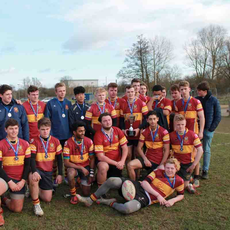 Academy Kent Cup Final  .Sidcup 20 March 2016