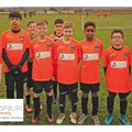 Under 12s Saturday beat Westbridgeford black cap 1 - 5